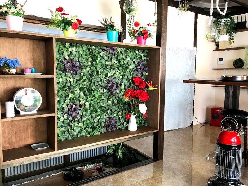 イロタス建築工房の緑あふれるオフィス