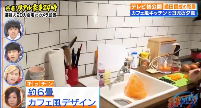 イロタスがリノベーションしたキッチンがテレビに!1