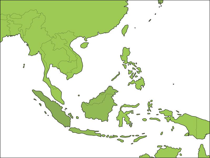 ベトナムの地図1