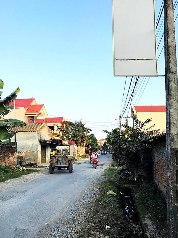 訪問途中の住宅地風景