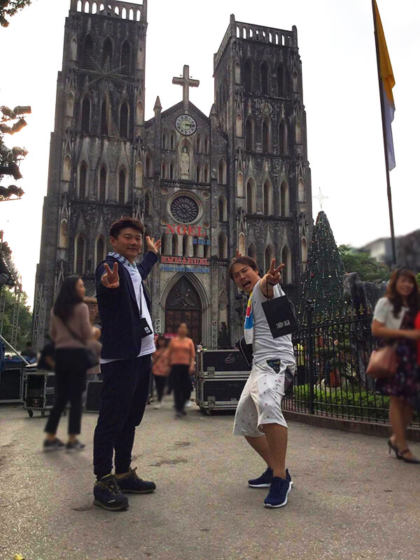 大教会を観光