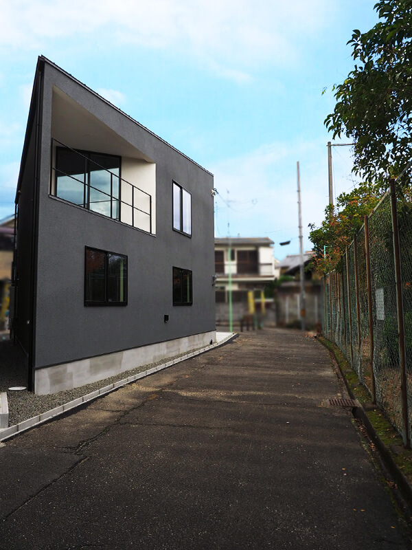 豊中市上野東の新築物件の外観3