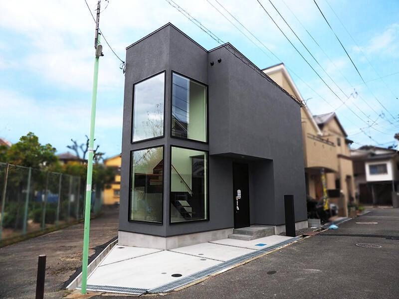 豊中市上野東の新築物件の外観4