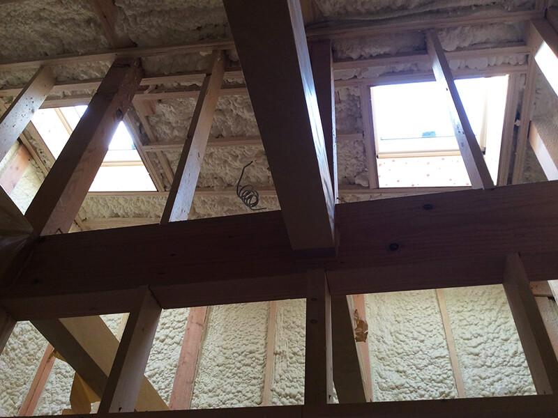 天井の断熱材2