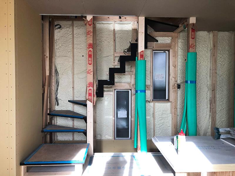 階段部分の内装2